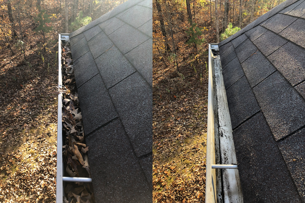 Gutter Cleaning in Hueytown, AL