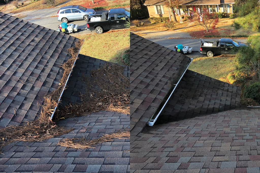 Gutter Cleaning in Homewood, AL
